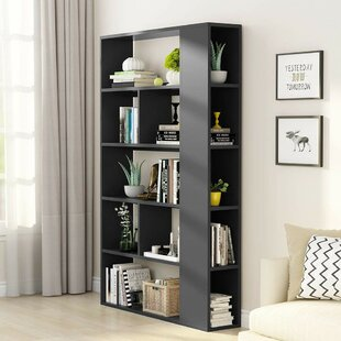 Aadi 5-Tier Standard Bookcase by Ebern Designs