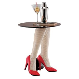 Searching for Fishnets and Heels Sculptural End Table by Design Toscano