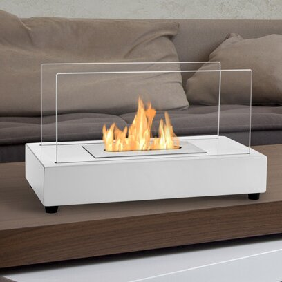 Ignis Tower Ventless Bio Ethanol Tabletop Fireplace U0026 Reviews | Wayfair