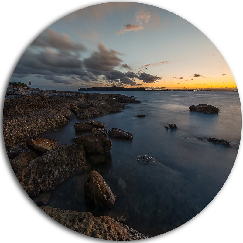 Designart Sunset At La Perouse Beach Sydney Photographic Print On Metal Wayfair