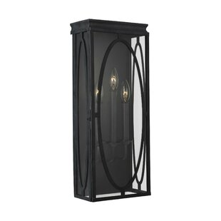 Cavana 3-Light Outdoor Flush Mount by Ophelia & Co.