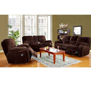 Three Posts Gracehill Reclining Configurable Living Room Set