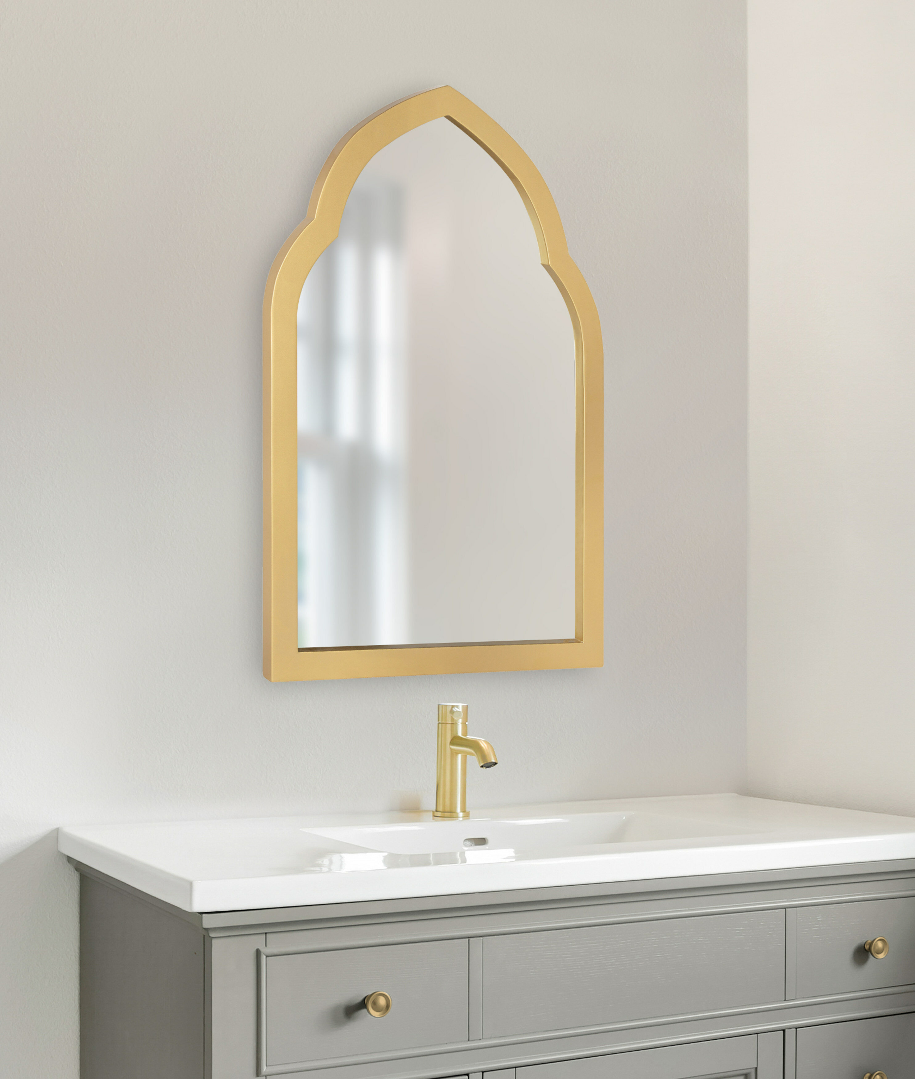 Bungalow Rose Overcash Eclectic Beveled Accent Mirror Reviews Wayfair
