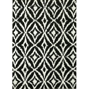 Deals Gober Black Area Rug By Brayden Studio