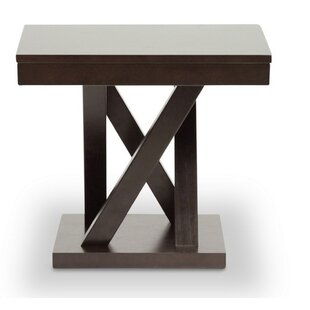 Girardi Modern End Table by Orren Ellis