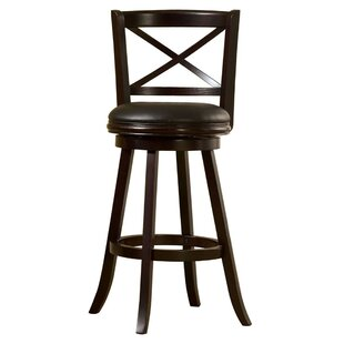 Dakota 29 Swivel Bar Stool by Fleur De Lis Living