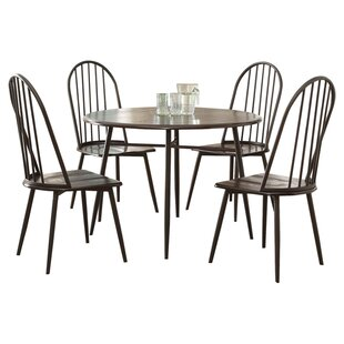 Irion 5 Piece Dining Set by Hokku Designs Great Reviews