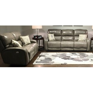 Fandango 2 Piece Leather Reclining Living Room Set by Southern Motion Find