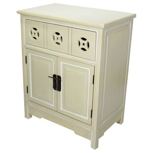 Davis 1 Drawer and 2 Doors Accent Cabinet by World Menagerie