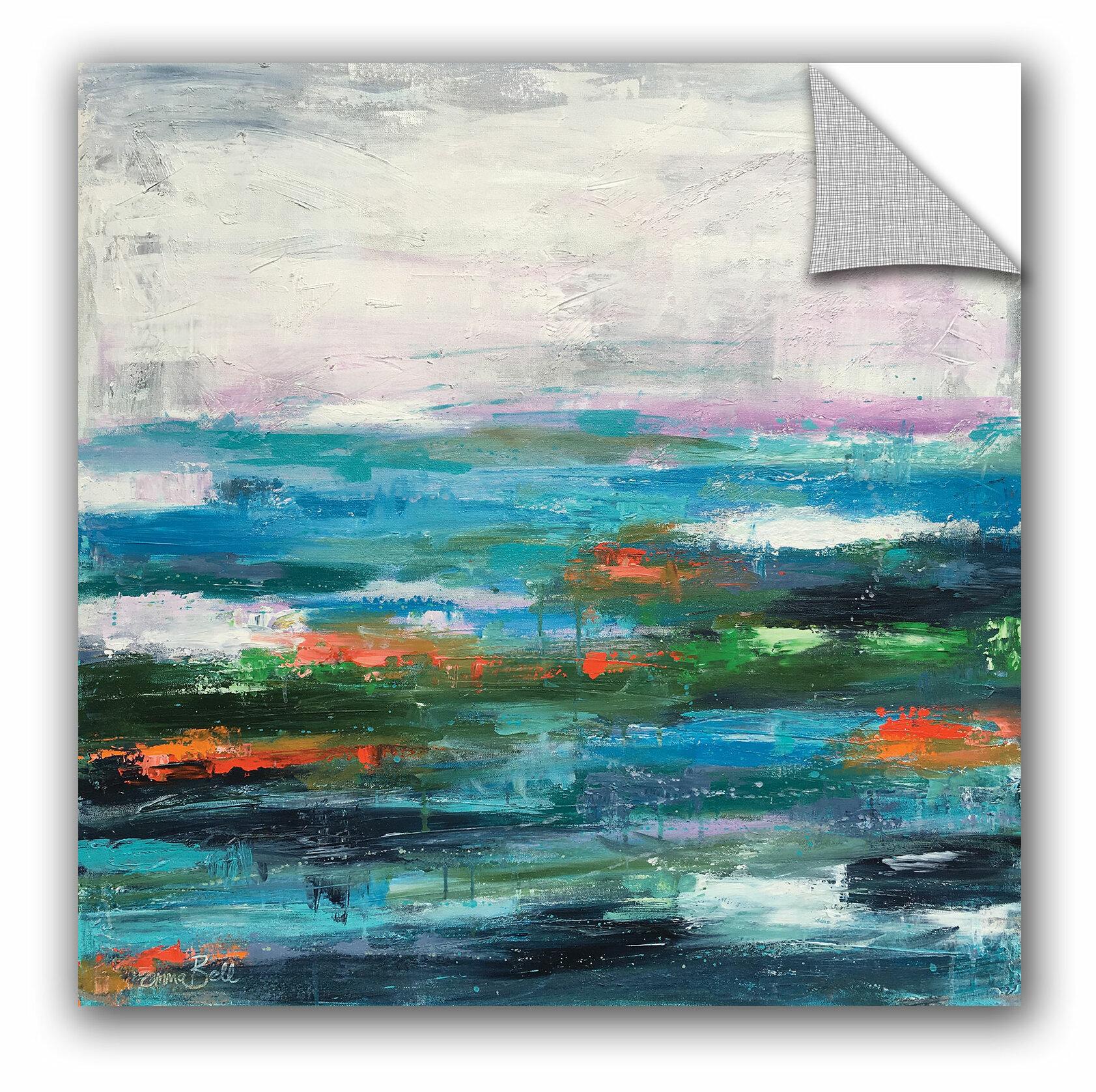 Artwall Emma Bell Abstract Landscape 4 Removable Wall Decal Wayfair