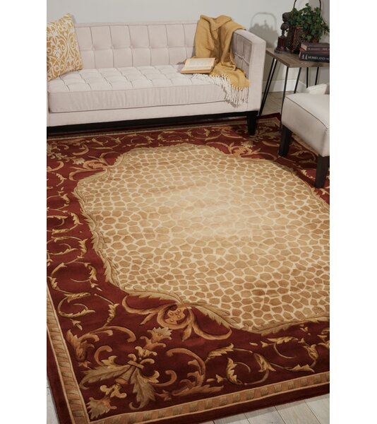 Astoria Grand Caldanagh Hand Tufted Wool Red Area Rug Wayfair