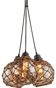 Rabin 3-Light Cluster Pendant by Bayou Breeze