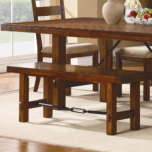 South Bross Wooden Bench by Loon Peak
