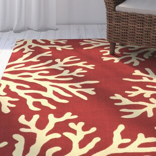 Eulalie Hand-Tufted Rust/Ivory Area Rug