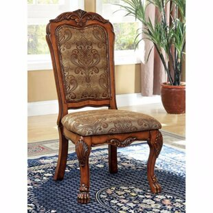 Bataan Solid Wood Dining Chair (Set of 2) Astoria Grand