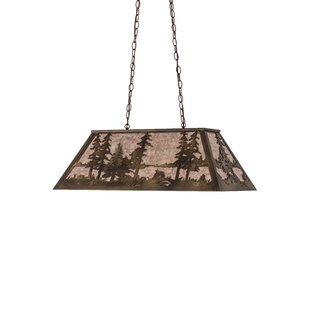 Meyda Tiffany Tall Pines 6-Light Pendant