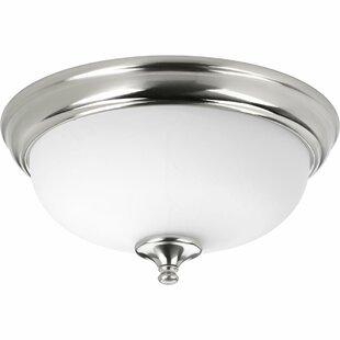 Winston Porter Bolles 1-Light LED Flush Mount