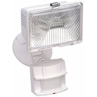 Read Reviews Motion Activated 1-Light Flood Light By Heath-Zenith
