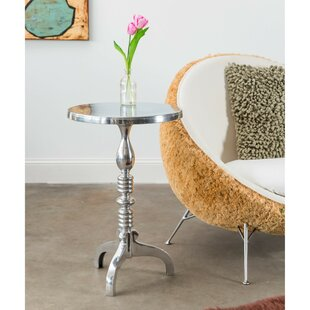 Reviews Jamaica Avenue End Table by Alcott Hill