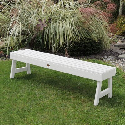 Awesome Darby Home Co Berry Backless Synthetic Wood Picnic Bench Ibusinesslaw Wood Chair Design Ideas Ibusinesslaworg