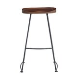 Corning Solid Wood 26.8'' Counter Stool (Set of 2) by 17 Stories