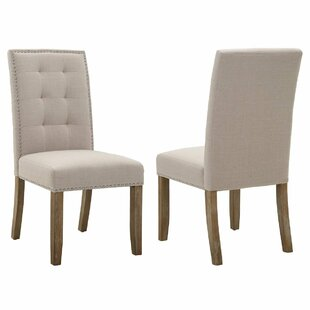Gracie Oaks Una Upholstered Dining Chairs