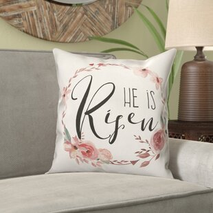 Gabrielo He Is Risen Throw Pillow