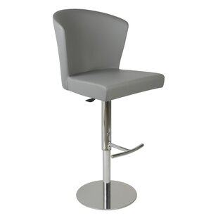 Verona Adjustable Height Swivel Bar Stool by Oggetti