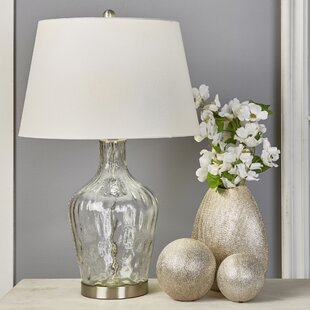Lamons Glass Jar 29 Table Lamp