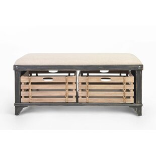 Wade Storage Bench by Rosecliff Heights