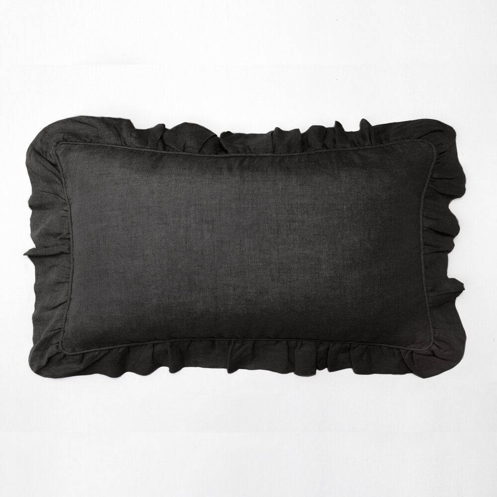 Red Barrel Studio Brack Linen Lumbar Pillow Wayfair