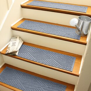 Blue Stair Tread Rugs