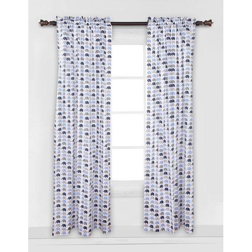 Viv Rae Yasmeen Polka Dot Semi Sheer Rod Pocket Single Curtain Panel Wayfair
