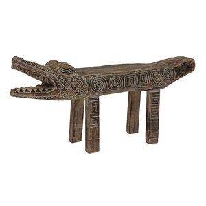 Sitzbank Luera aus Holz von World Menagerie