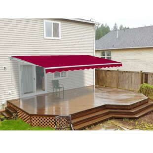 12 ft. W x 10 ft. D Retractable Patio Awning by ALEKO