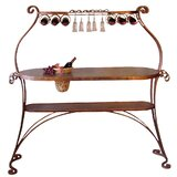 Bird of Paradise Bar with Wine Storage by Metrotex Designs