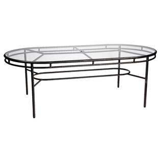 Nob Hill Glass Dining Table by..