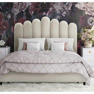 Celine Upholstered Platform Bed by Inspire Me Home Dcor