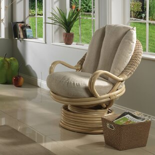 Rowan Deluxe Swivel Rocker Armchair By Bay Isle Home