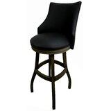 Esita Swivel Wood Bar & Extra Tall Stool by Red Barrel Studio®