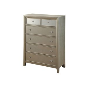 Rosdorf Park Garret 6 Drawer Standard Chest