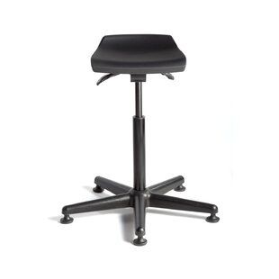 Breva Height Adjustable Stool with Mushroom Glides