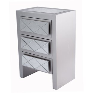 House of Hampton Windmere 3 Drawer Accent Chest