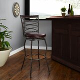 Hallsville 30 Swivel Bar Stool by Fleur De Lis Living