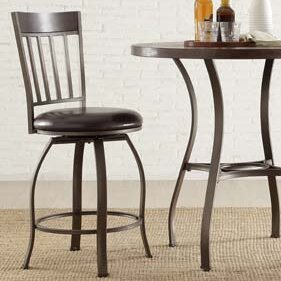 Shayne 24  Swivel Bar Stool & Kingstown Home Shayne 24