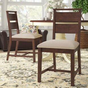 Damiani Upholstered Dining Chair (Set of 2) Brayden Studio