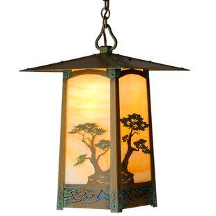 World Menagerie Dever 1-Light Outdoor Hanging Lantern