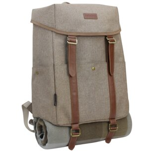 Luxury Insulated Picnic Cooler, Service for 2