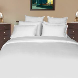 Hursey Sateen Solid 800 Thread Count 100% Cotton Sheet Set