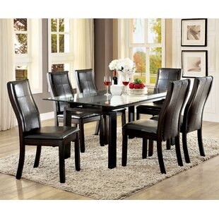 Norrell 7 Piece Dining Set Wrought Studio